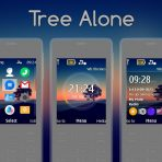 tree-alone-dark-evening-swf-flash-lite-digital-clock-theme-x3-00-x2-05-x2-00-6700-206-by-wb7themes