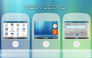 Windows Vista beta 6 style theme C3-00 X2-01 Asha 302 210 205 200 201