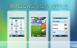 Vista style swf sidebar clock with monthly calendar theme X2-00