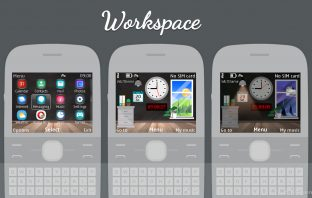 Workspace flash lite live theme X2-01 C3-00 Asha 302 201 200 205 210